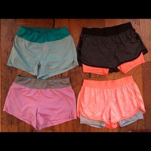 Danskin Shorts, 4 Pairs, Women's Small